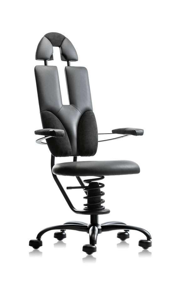 Ergonomski direktorski pisarniški stol SpinaliS Pilot
