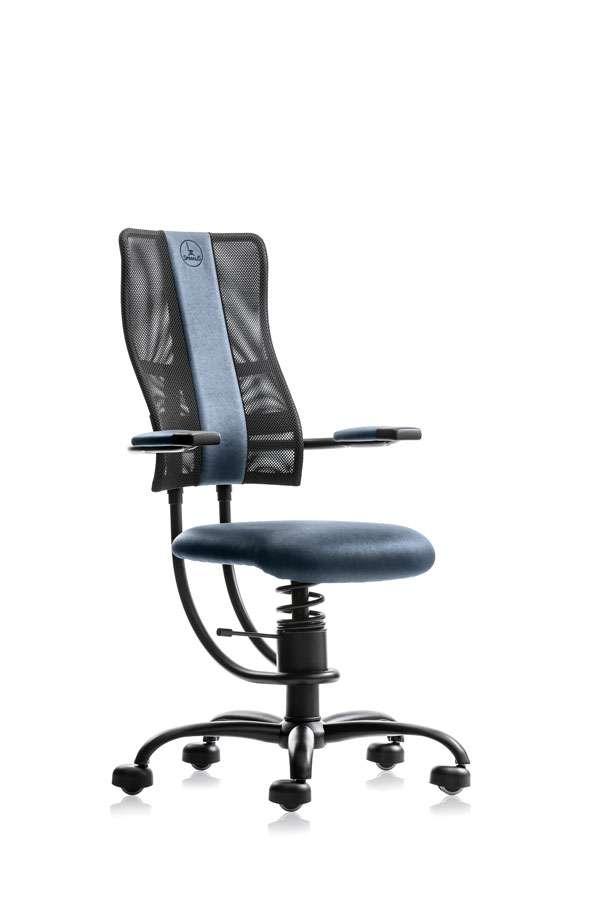 Ergonomski pisarniški stol SpinaliS Hacker