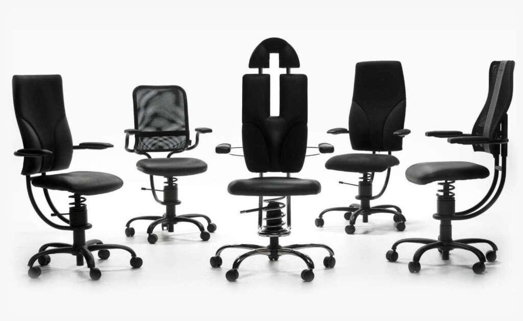 Ergonomski pisarniški stoli SpinaliS
